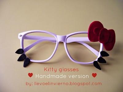 Kitty glasses !
