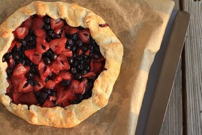 Mixed Berry Galette by the travelling spoon