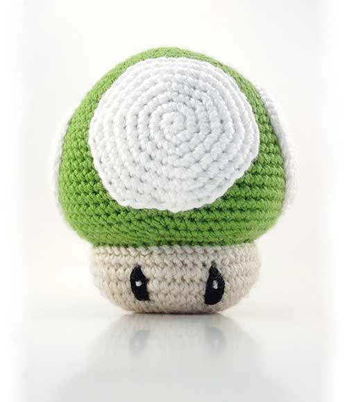 Amigurumi Mushroom Crochet Patterns : Mario Mushroom amigurumi crochet pattern Crochet ...