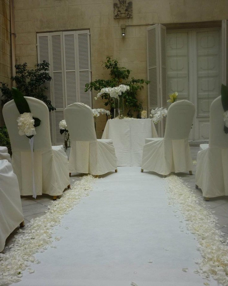 Pin civil decoracion para matrimonio asesoria on pinterest - Decoracion ceremonia civil ...