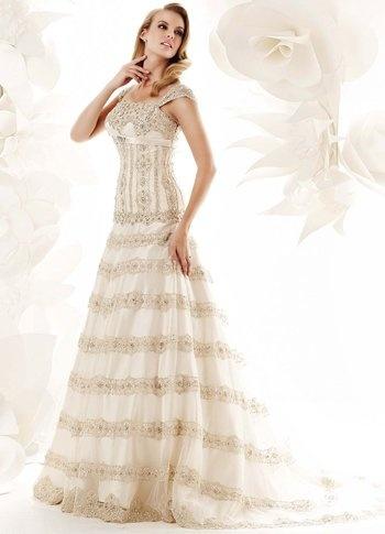 Robe de mariée -Milanoo- $239  Wedding inspiration  Pinterest
