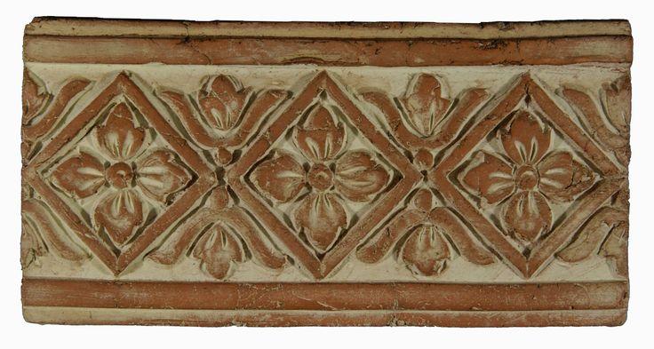 Decorative border | Italian Terracotta Tiles | Pinterest