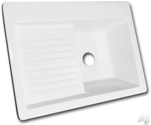 ... Acrylic Laundry Sink with 3 Faucet Holes, Washboard and Drainboard