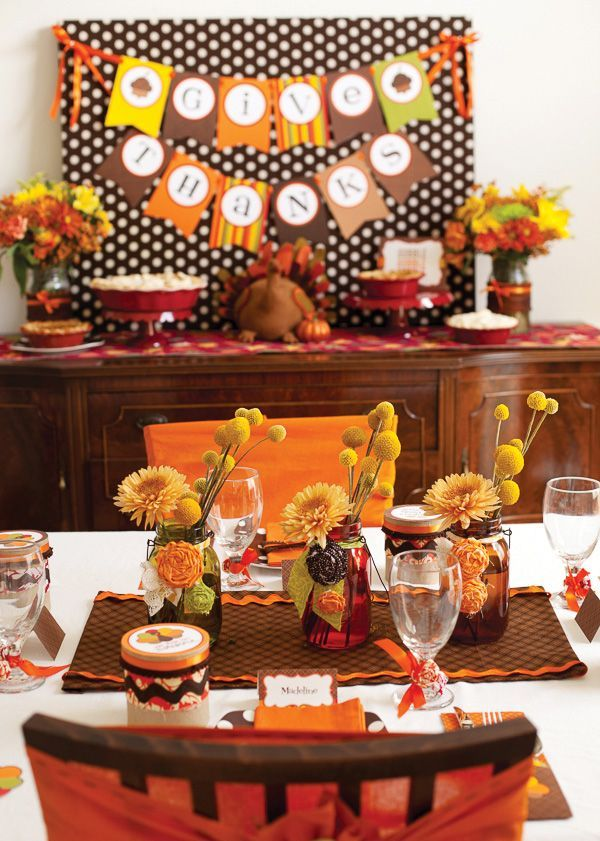 Thanksgiving Craft Ideas Pinterest | Festive Kids Thanksgiving Table ...