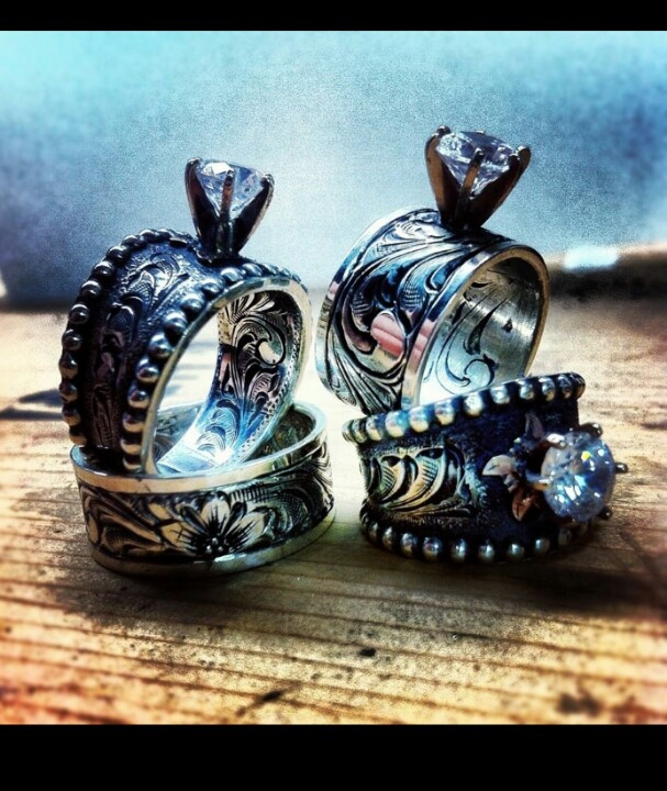 Brilliant Western Style Wedding Rings 19 Inside Luxurious Design