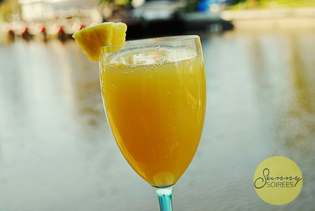 Pineapple Mimosa | >> Cheers | Pinterest
