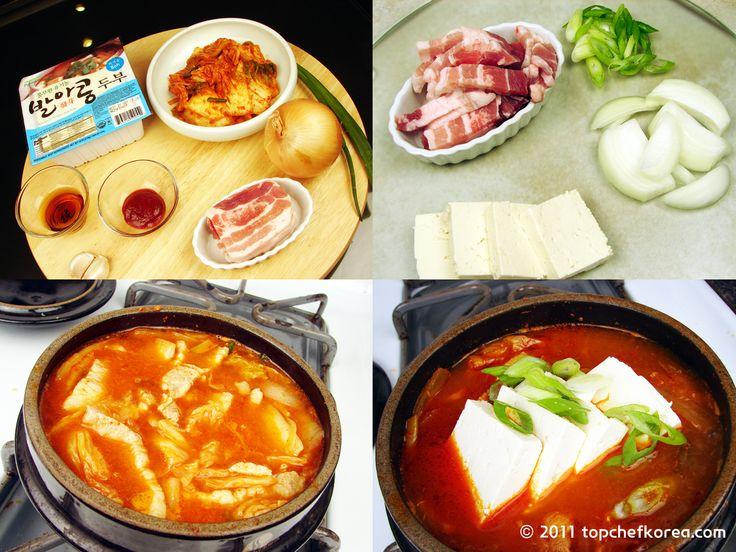 Kimchi Jjigae / Kimchi Stew (김치찌개) – Authentic Korean Food ...