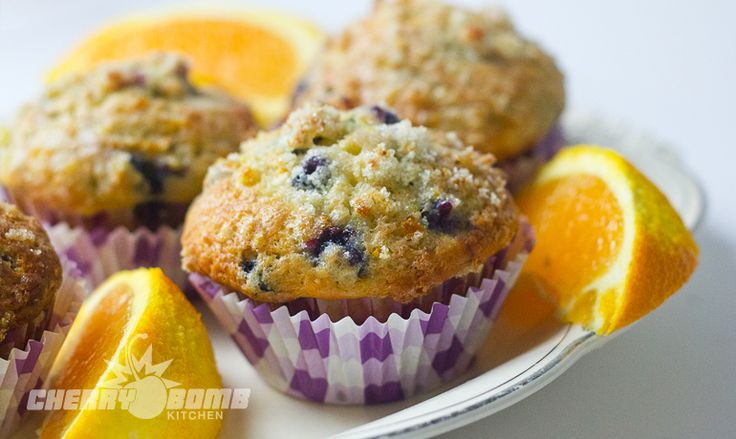 Blueberry Orange Sweet Muffins | Recipe
