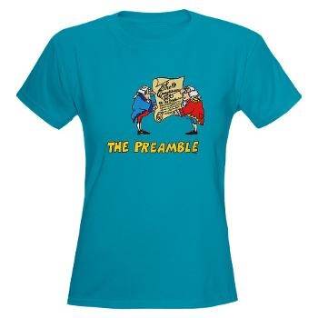 The Preamble Womens Dark T-Shirt | My Style | Pinterest