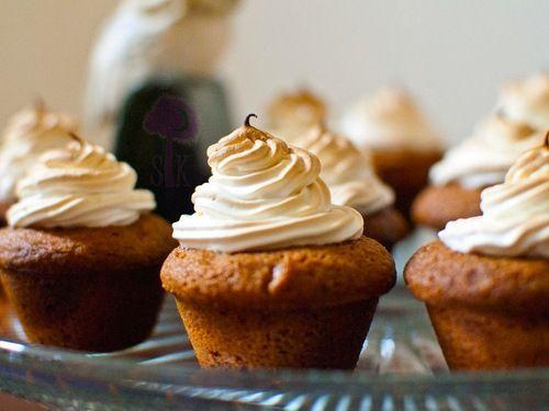 butterbeer blondie cupcakes | Cupcakes | Pinterest