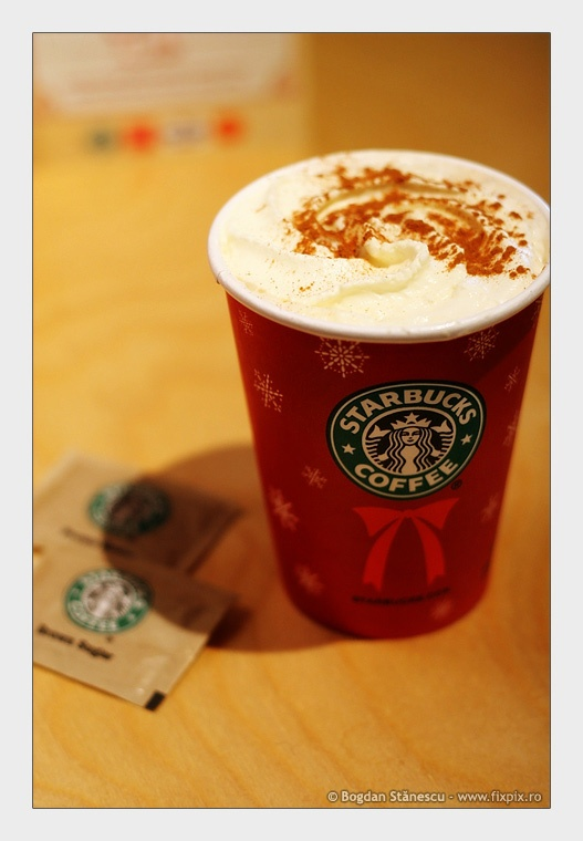 christmas in a cup at starbucks :) | Christmas | Pinterest