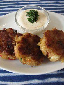 Mini Crab Cakes With Dijon And Scallions Recipes — Dishmaps