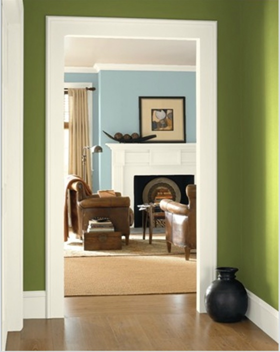 Benjamin Moore Avocado Foyer Dream Home Pinterest
