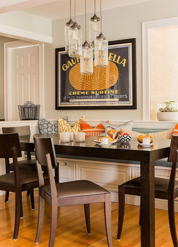 Eclectic suburban home by hudson interior design designrulz