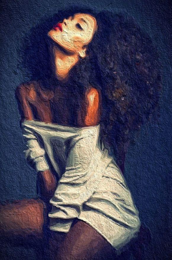 natural hair art art pinterest