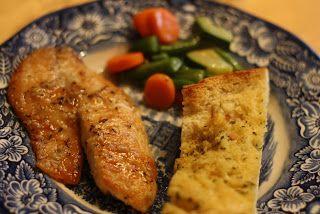 Tilapia with Lemon Garlic Sauce | My Food Addiction