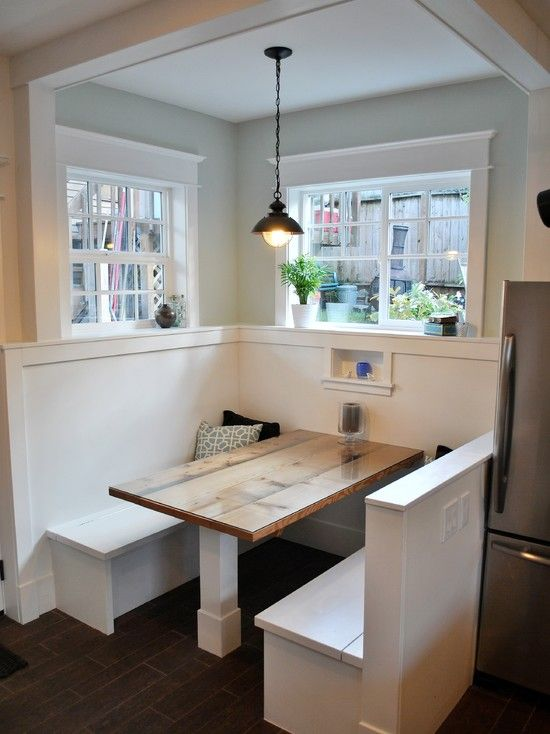 Love This Booth For A Kitchen Home Decor Pinterest