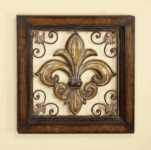Fleur De Lis Metal Wall Decor Home Decor Pinterest