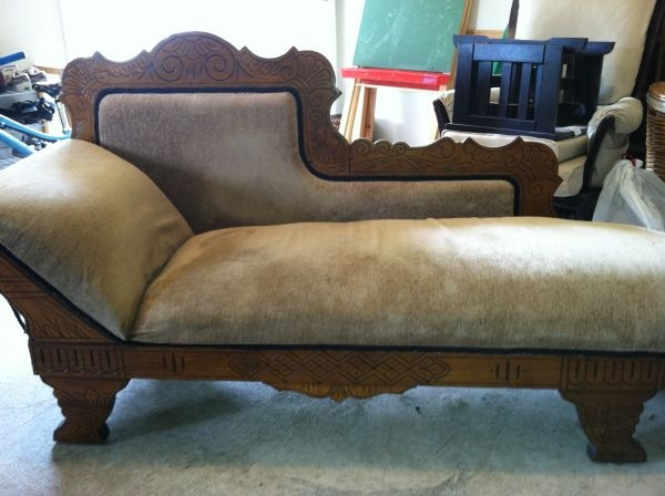 Eastlake Fainting Couch Antiques Pinterest