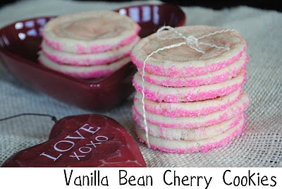 Vanilla Bean and Cherry Swirled Icebox Cookies. Keep the dough in your ...