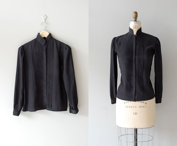 black blouse, for the fall