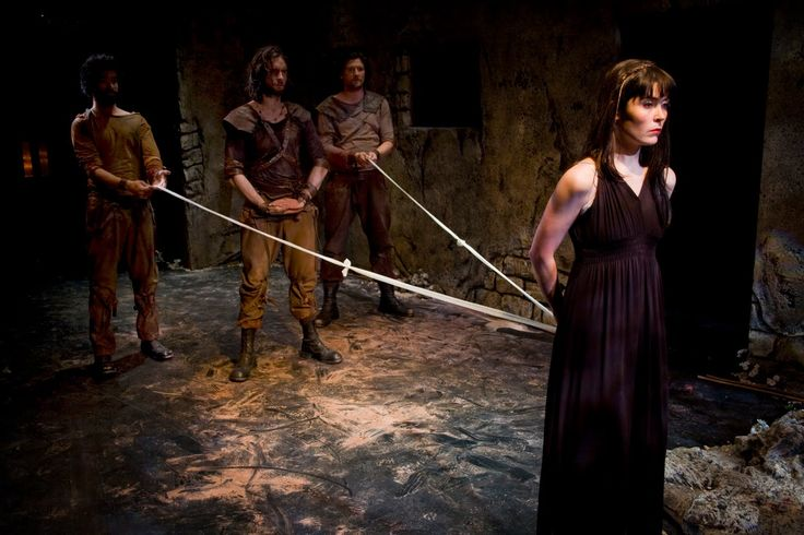 ANTIGONE Lisa Stuart - Antigone  Matthew Wade  Chris Gunter and Robert    Antigone Play