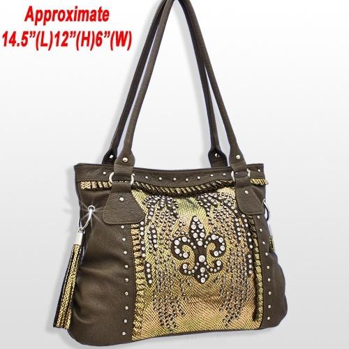 wholesale purses fleur-de-lis