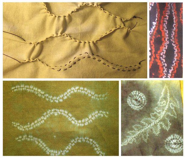 Dyeing Fabric Shibori Techniques Embroidery And Fibre