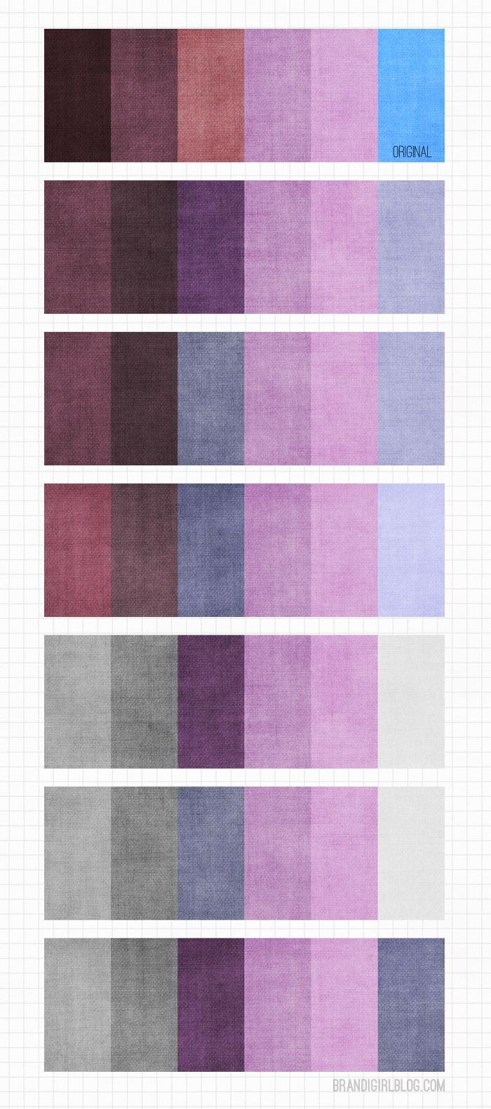 Purple Color Schemes Fascinating With Blue and Purple Color Scheme Photo