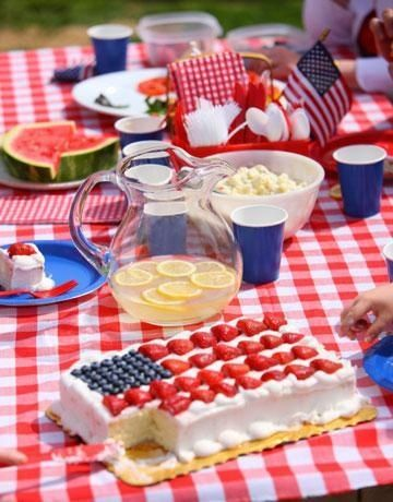 july 4th picnic decorations