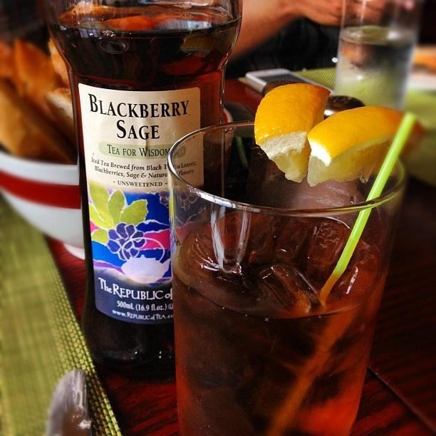 Blackberry Sage Tea #foodspotting by quasarkitten.