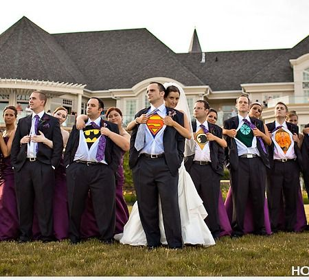 Super Hero Groom-I hope I marry a man willing to do this