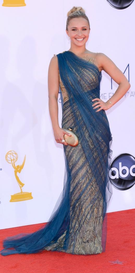 Hayden Panettiere, Marchesa. Emmys 2012.