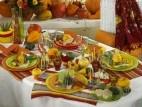 Tischdeko im Herbst  Thernberg  Pinterest