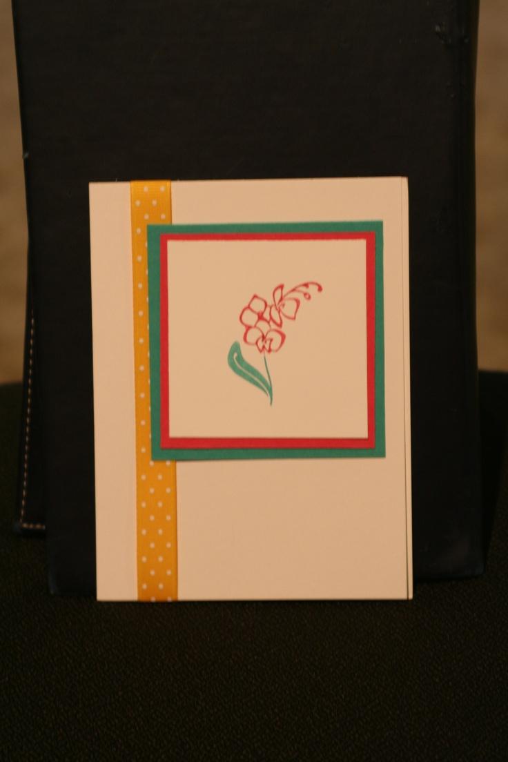 Bright Colors Card Ideas Pinterest