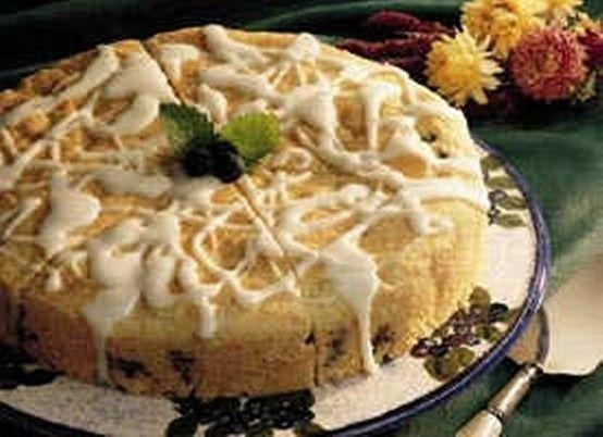 Blueberry-lemon coffee cake | food | Pinterest