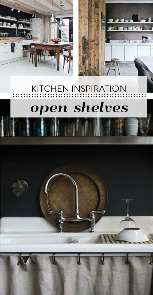 Vtwonen Keuken Inspiratie : planken boven keukenblad
