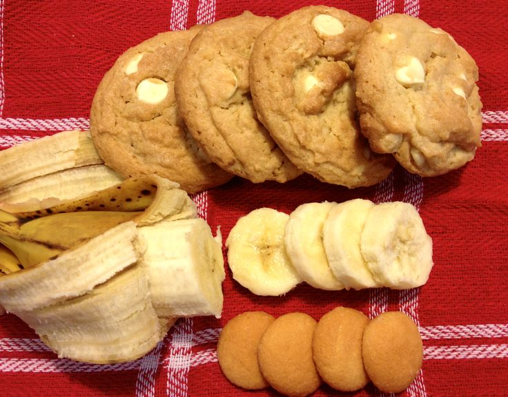 Banana Cream Pudding Cookies! | Recipes | Pinterest