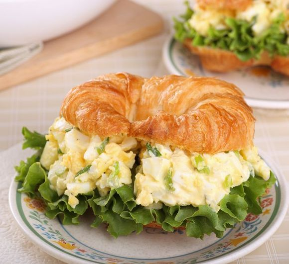Egg Salad Sandwich | Epicurean Temptations | Pinterest