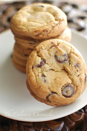 New York Times Chocolate Chip Cookies by The Culinary Chronicles, via ...