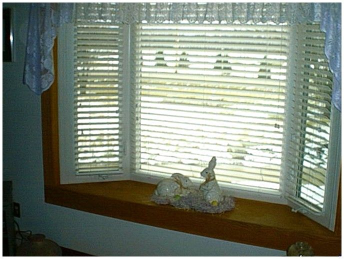Bay window bay window shades and blinds for Window blinds