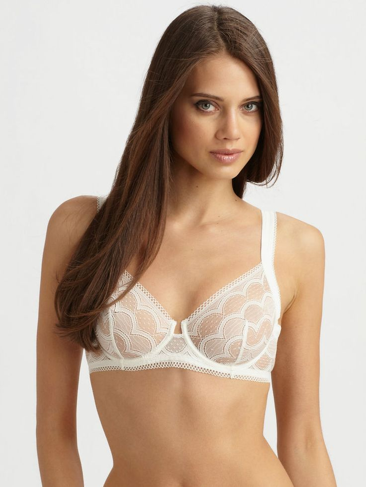 9. Lace Balconette Bra and Thong Set