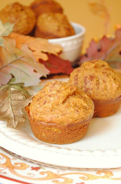 Pumpkin Spice Muffins | great food | Pinterest