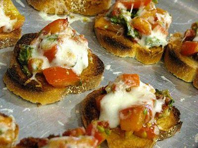 Double tomato bruschetta | recipes | Pinterest