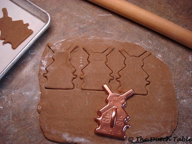 The Dutch Table: Speculaasjes (Dutch Windmill Cookies)