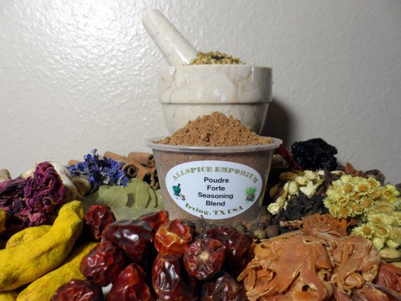 Poudre Forte Seasoning Blend, Spice Mix, Spice Blend, Strong Powder ...