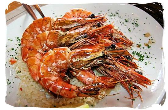 Prawns in piri piri sauce | Food - Seafood | Pinterest