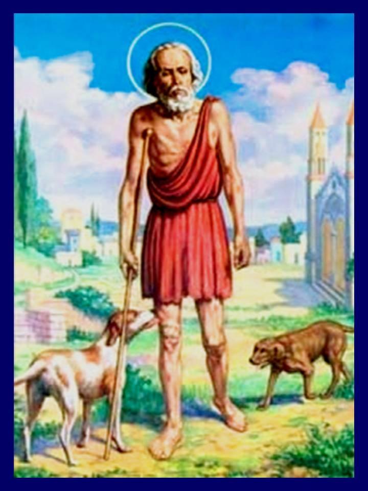 San Lazaro, patron of the poor