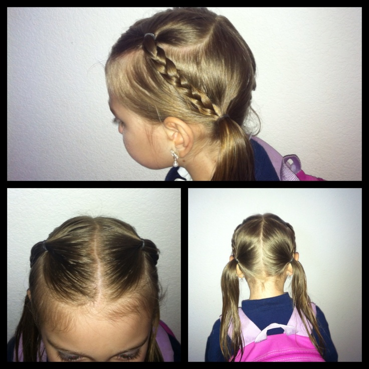 Easy little girl hairstyle Kids Girls Hairstyle