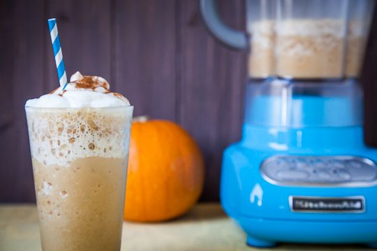 "White Mocha Pumpkin ""Frappuccino"" and the glories of early fall in ..."